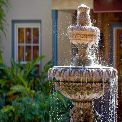 Backyard Water Fountain